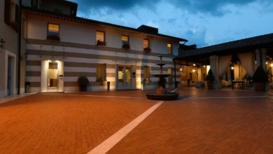 Photo of Ca'd'Or winery and it's noble Franciacorta wines
